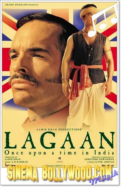 Lagaan:Once Upon a Time in India,Aamir Khan,Bhuvan,Gracy Singh,Gauri,Rachel Shelley,Elizabeth Russell,Paul Blackthorne,Captain Andrew Russell,Suhasini Mulay,Yashodamai,Kulbhushan Kharbanda,Rajah Puran Singh,Raghuvir Yadav,Bhura,Raghuveer Yadav,Ashutosh Gowariker,Champaner,Lagaan,Lagaan:Evvel Zaman İçinde Hindistan'da,Lagaan,Land Tax,2001,Hindistan,224 Dak.,Bollywood,