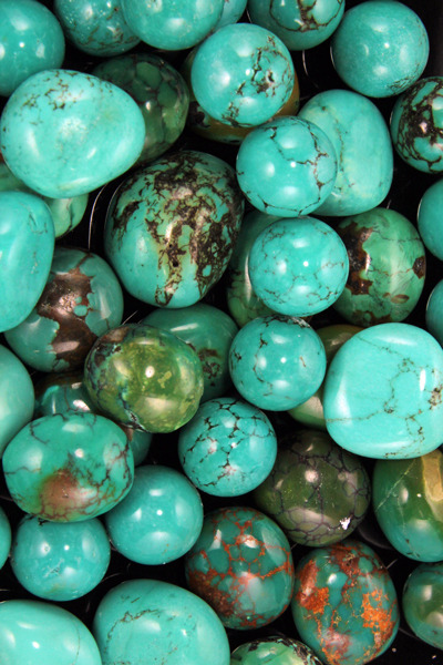 Turquoise stones
