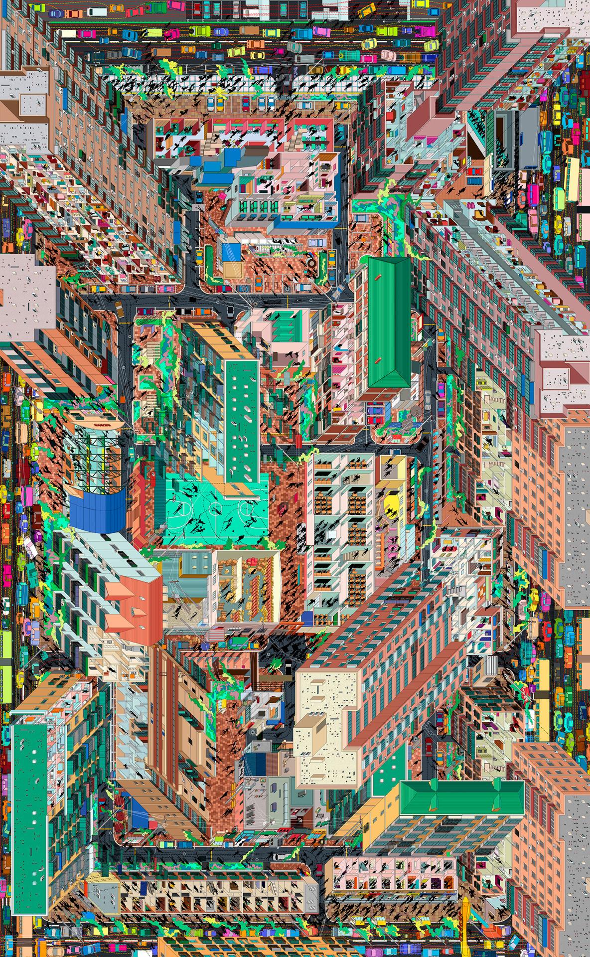 """transparentoctopus: """" Tuan Jie Hu, panorama """""""