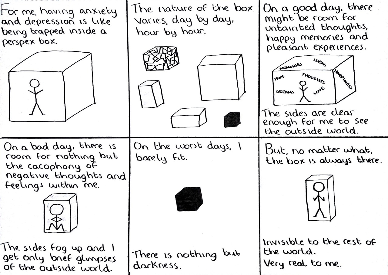 The Doodle Chronicles Mental Illness