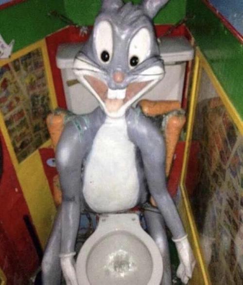 El váter de Bugs Bunny