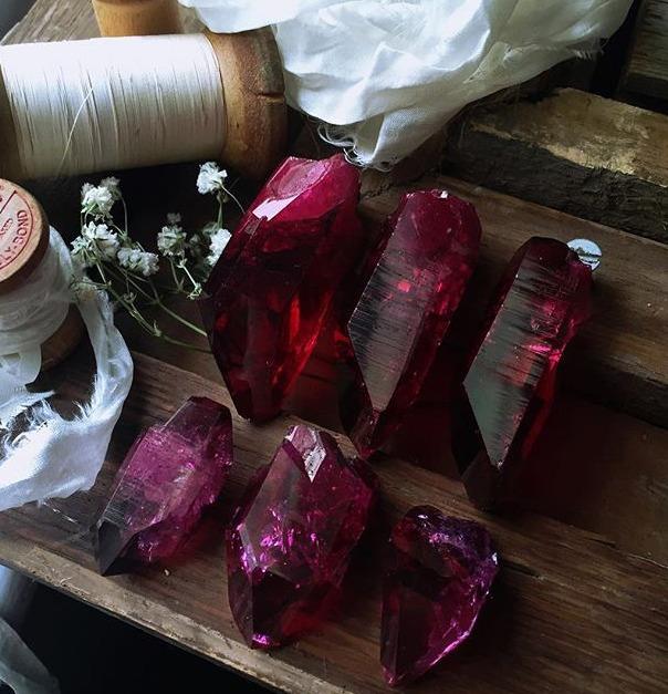 Ruby quartz collection