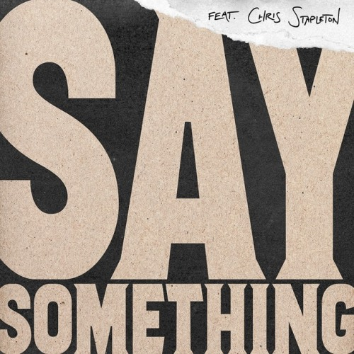 Justin Timberlake - Say Something ft. Chris Stapleton Artwork