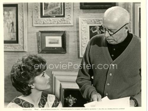 Howard Hawks directing Charlene Holt in Man's Favorite Sport (1964)