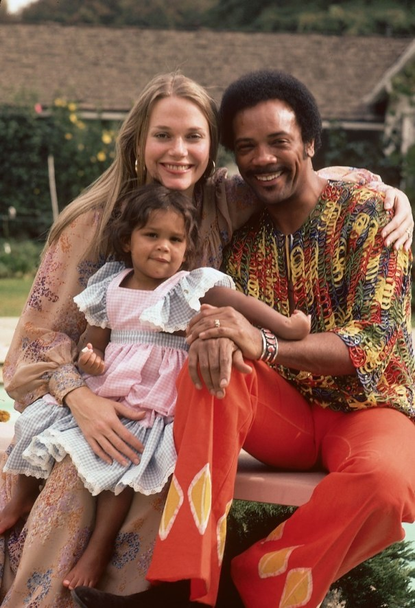 Quincy Jones With Wife Actress Peggy Lipton O Rb
