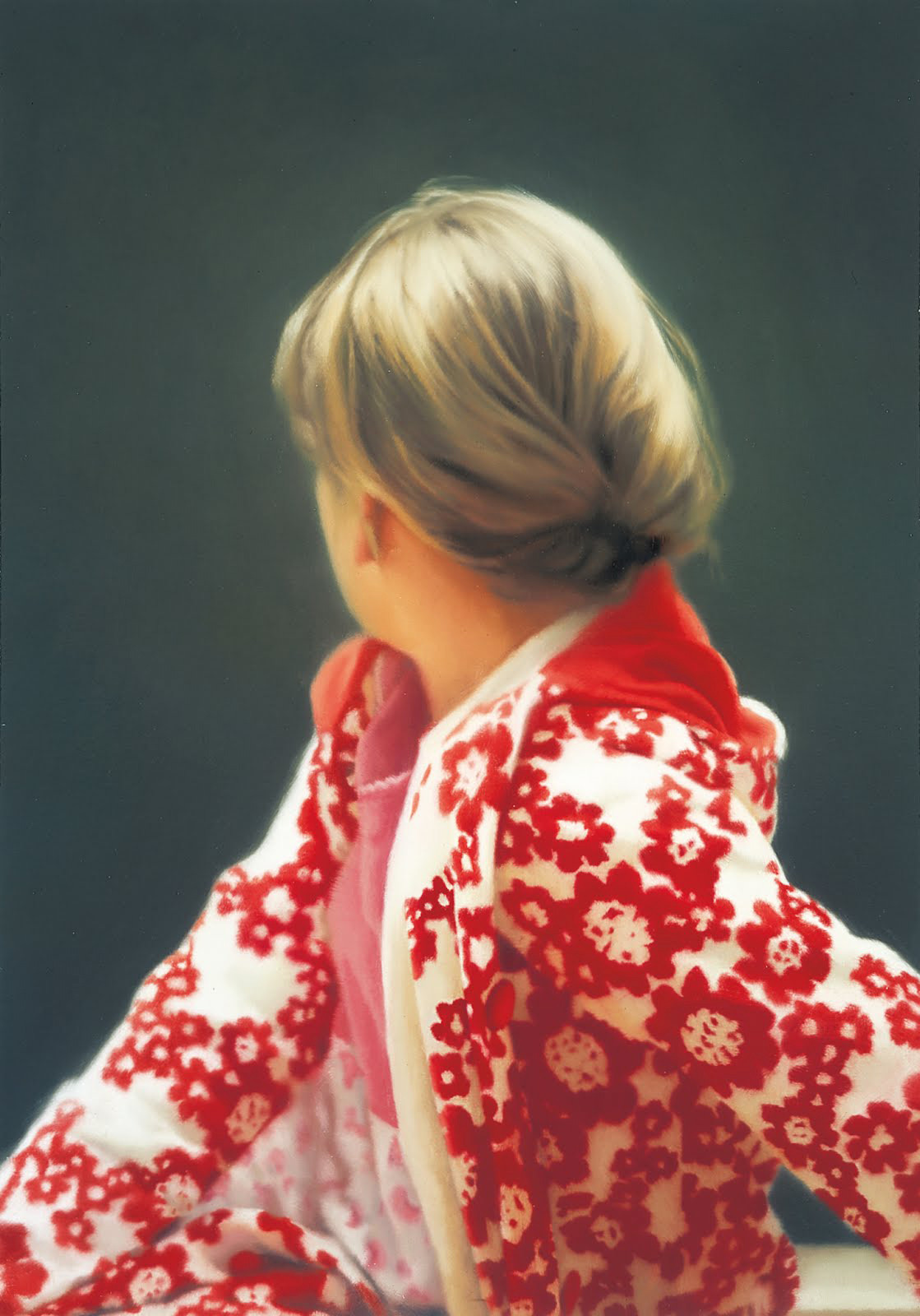 "immaginaria: ""Gerhard Richter, Betty, 1988 Saint Louis Art Museum, Saint Louis Gerhard Richter based this painting on a 1978 photograph he took of his daughter Betty when she was 11 years old. The girl's position is partially posed, but also..."