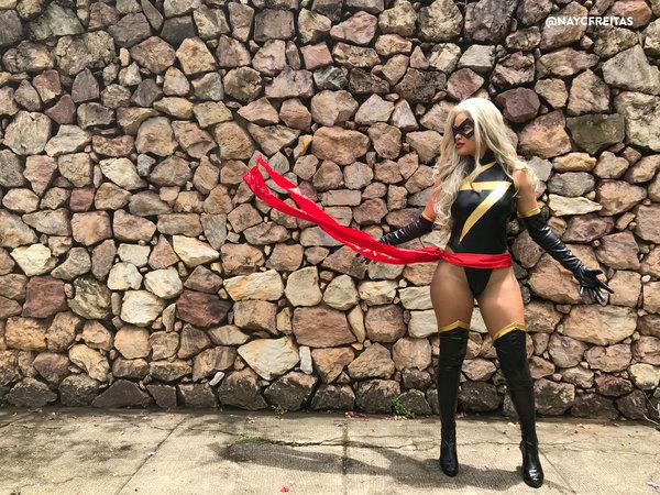 Miss Marvel by nayfreitas  More Hot Cosplay: http://hotcosplaychicks.tumblr.com NSFW Content: https://www.patreon.com/hotcosplaychicksChat Room: https://discord.gg/rnaDPNqfacebook: https://www.facebook.com/hotcosplaychicks