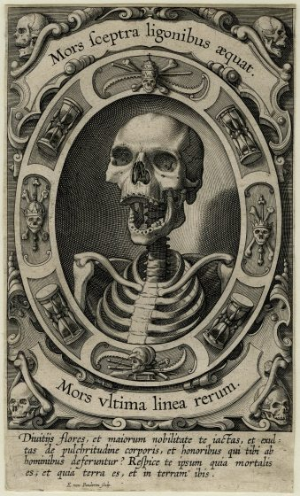 Servitus Carnis (1610/20 - Engraving) - Egbert van Panderen