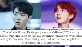 yeo one from pentagon reminds me of jhope phys… – KPop Fan