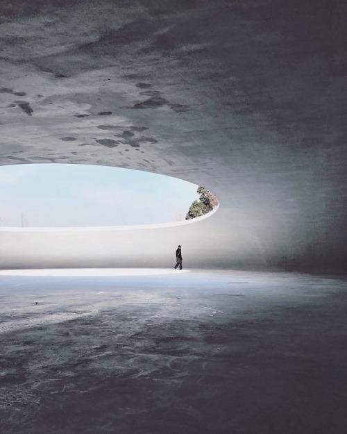 tumblr_p2fu7lzat91qfzymao1_500 just-good-design:Teshima art Museum Ryue Nishizama architect... Contemporary