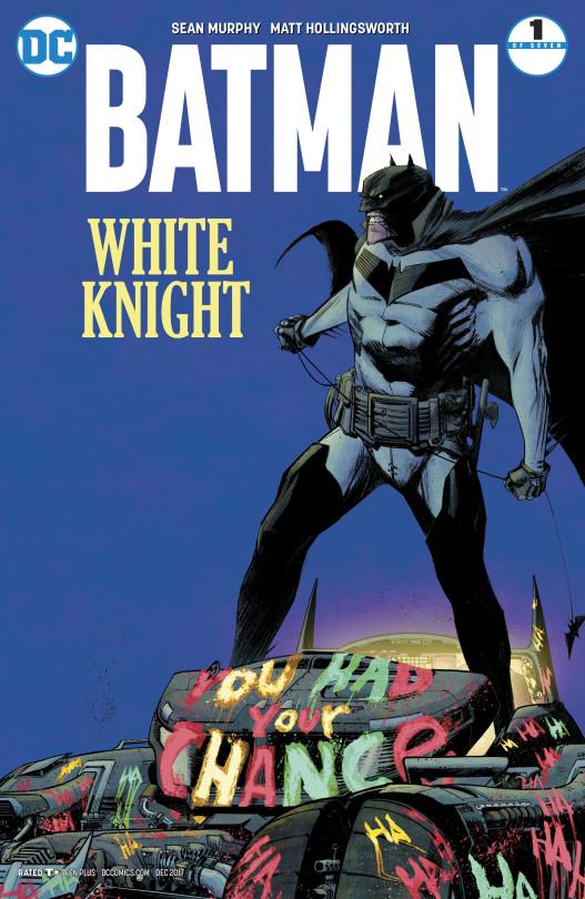 Batman -White Knight 1 Cover