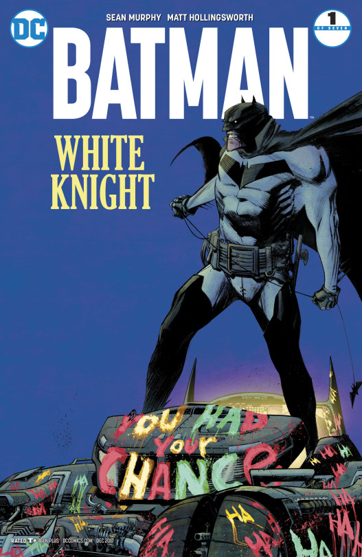 Batman -White Knight 1 Cover