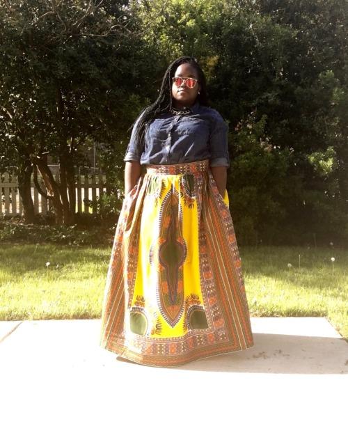 I must say I felt hella good in this skirt