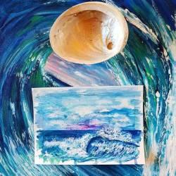 Loose lil water colour waves 🌊15 x 21cm$40 + shipping {free in Oz} 💕#waveart...........#contemporaryart #waves #watercolorpainting #watercolor #abstractart #abstract #perthisok #perthstyle#perthartist #interiordesign #surf #beachlife #emergingartist #fluidart #acrylicpainting #artist#artlife #carveouttimeforart #inmystudio #seascape #cotfa #lovelyart #ladyterezie #art_whisper #artwork_in_studio   (at Perth, Western Australia)
