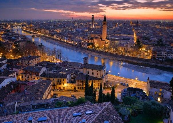 Verona Italy By Stefano Lizziero Holiday