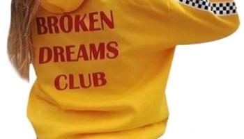 b880759fe UNISEX TUMBLR CLOTHESBROKEN DREAMS CLUB HOODIEPABLO PABLO PABLO… – Humor