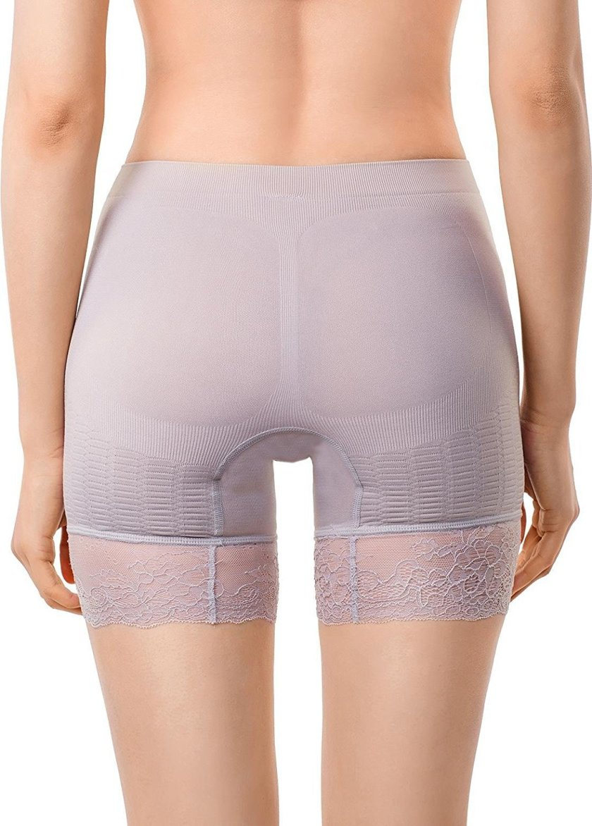 a79e69aebe266 Women s Shapewear Inner Thigh Waist Slimmer Power Shorts Body Shaper.  MDshe s women s thigh slimmer shapewear offers 360 degrees of firm  compression and ...