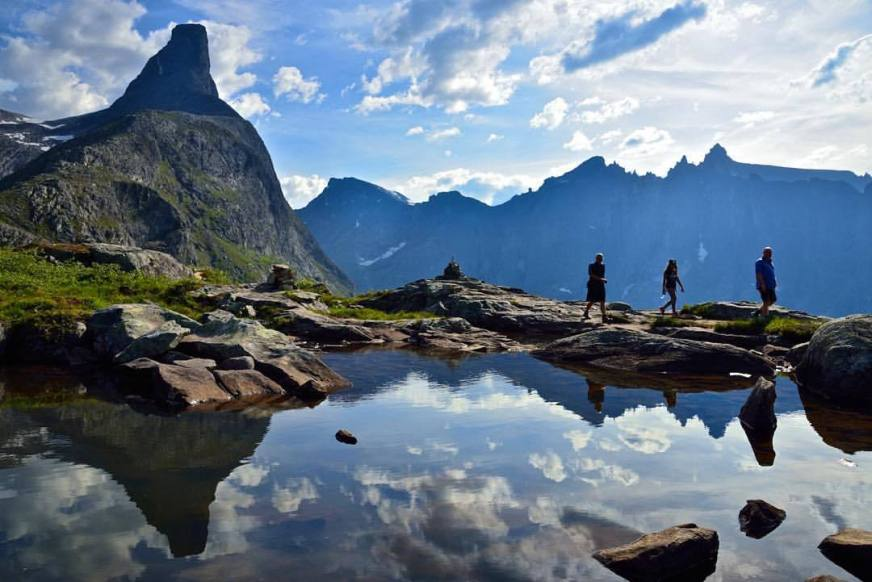 EPIC FJORDS — Hiking at my favourite Litlefjellet in ...
