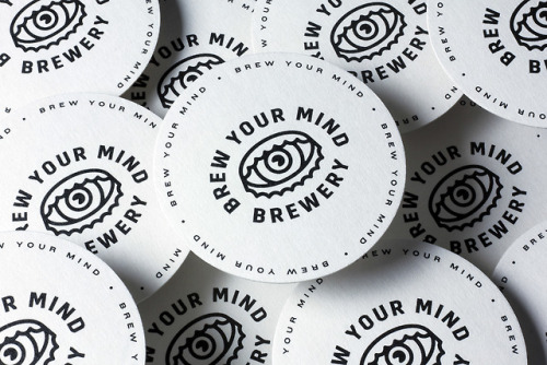 """tumblr_pdjf2yFVgl1r5vojso2_500 Brand Identity forBrew Your Mind by Classmate Studio""""Brand and... Design"""