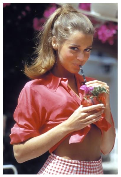03a517e62 Jane Fonda… Photo by Willy Rizzo, 1961 – Vintage Stuff