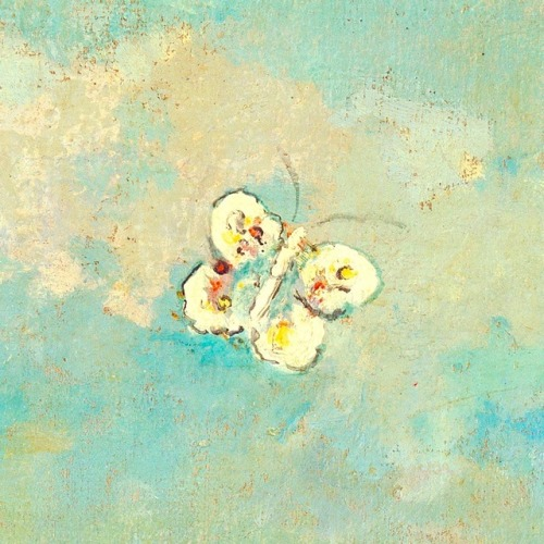 Odilon Redon (1840–1916), Butterflies, circa 1910, oil on… – Funny ...