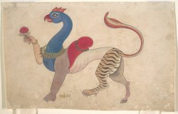 danielwamba:  Five Faces of ShivaMe gusta esta página · 3 de agosto ·  As always, archival research turns up some completely unrelated but fantastic gems. I love this chimera! Navagunjara, a form of Krishna.