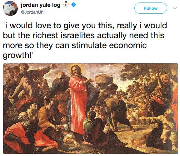 """rcmmacgregor: """" politicalsci: """""""" Republican Jesus. """""""