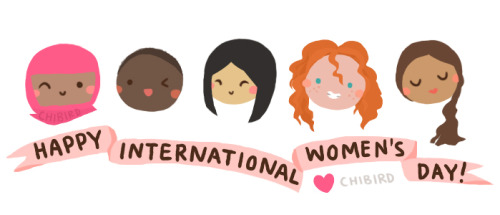 Happy International Women's Day 2014! ^__^ For equality and women's rights all over the world.