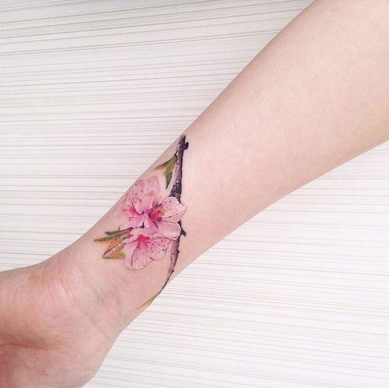 cicekli dövme 2