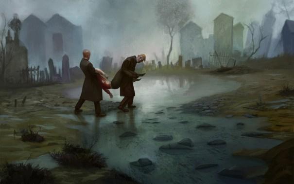 Murder – dark fantasy concept by Igor Khomenko… – Horror