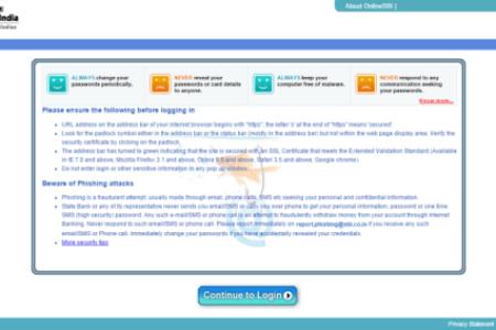 sbi online corp saral login