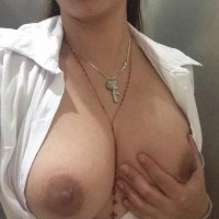 Naked tits nude boobs South Indian housewife