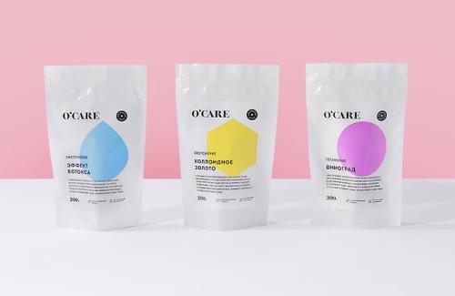 "tumblr_pdbofesqor1r5vojso6_500 Identity & Packaging for O'Care by Nika Levitskaya""Naming,... Design"