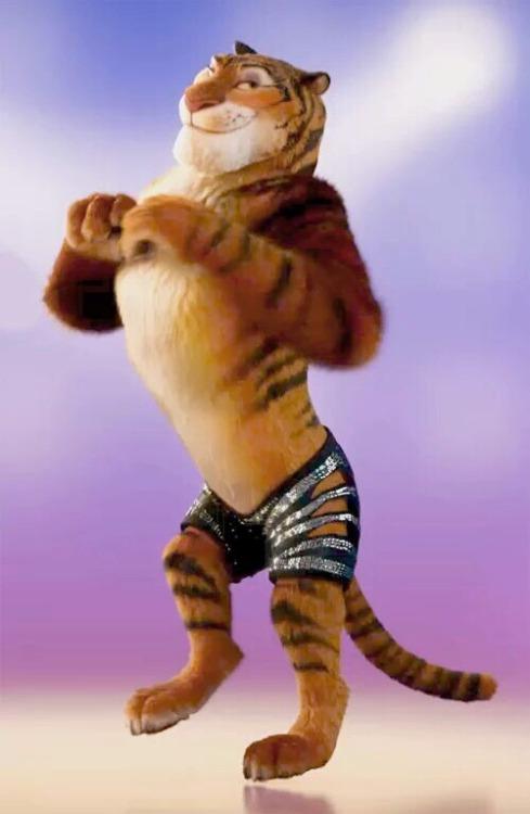 Glitter Tiger Tumblr