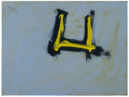 tumblr_p2eapvrDhO1qfc4xho1_500 Robert Motherwell, Open Untitled (Yellow), 1981 Bernard Jacobson... Contemporary