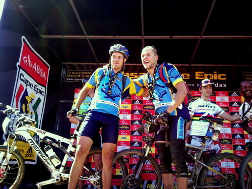 Finish of the the Absa Cape Epic with Type 1 diabetes