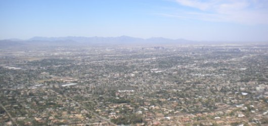 Camelback Mountain, Phoenix, AZ (view from the top)
