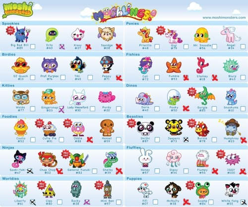 Diavlo Moshi Ecto Monsters