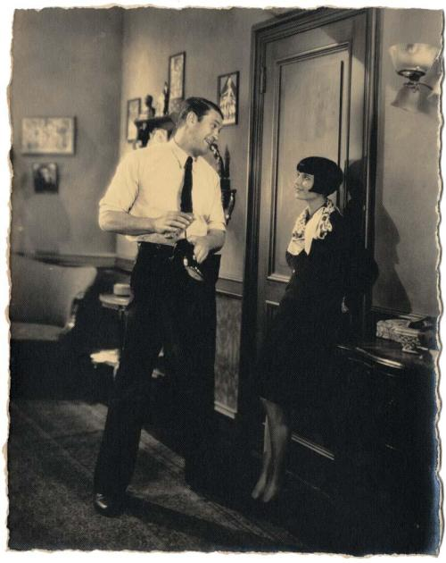Victor McLaglen and Louise Brooks in A Girl in Every Port