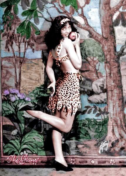 "howardhawkshollywood: ""Olive Borden in a publicity still for Fig Leaves """