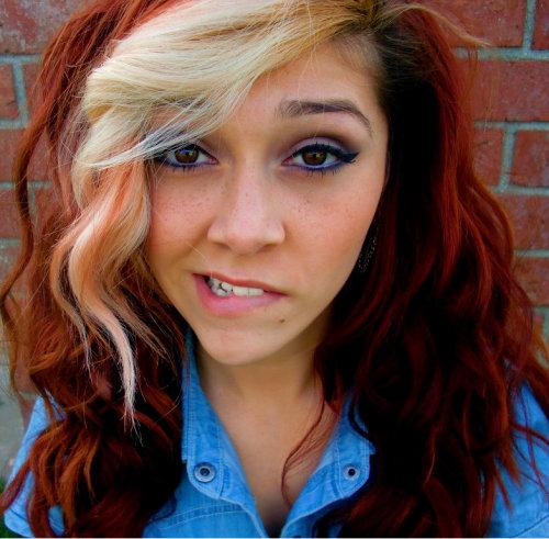 Blonde Streaks On Tumblr