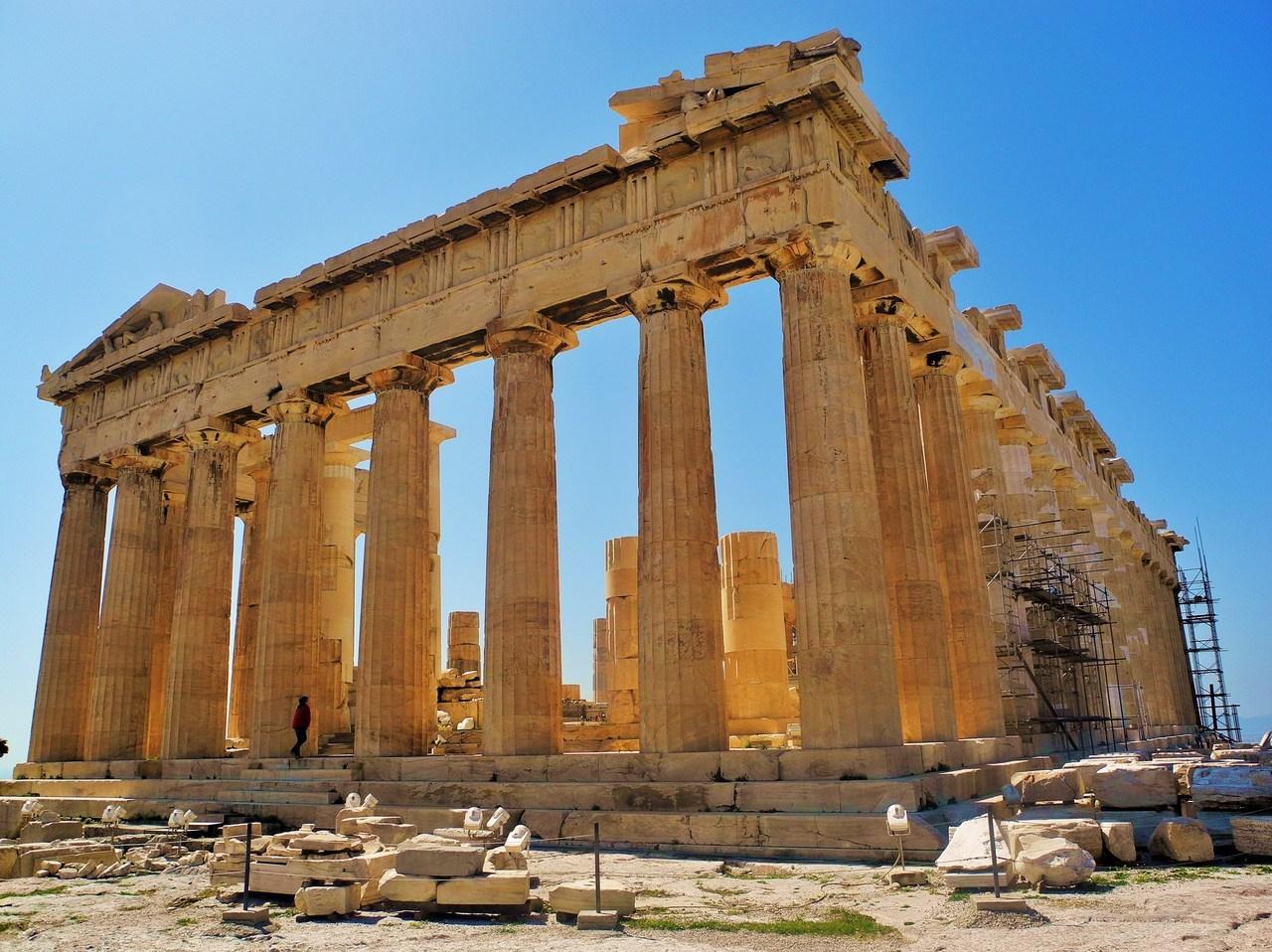 World Famous Monuments 4 Parthenon Athens
