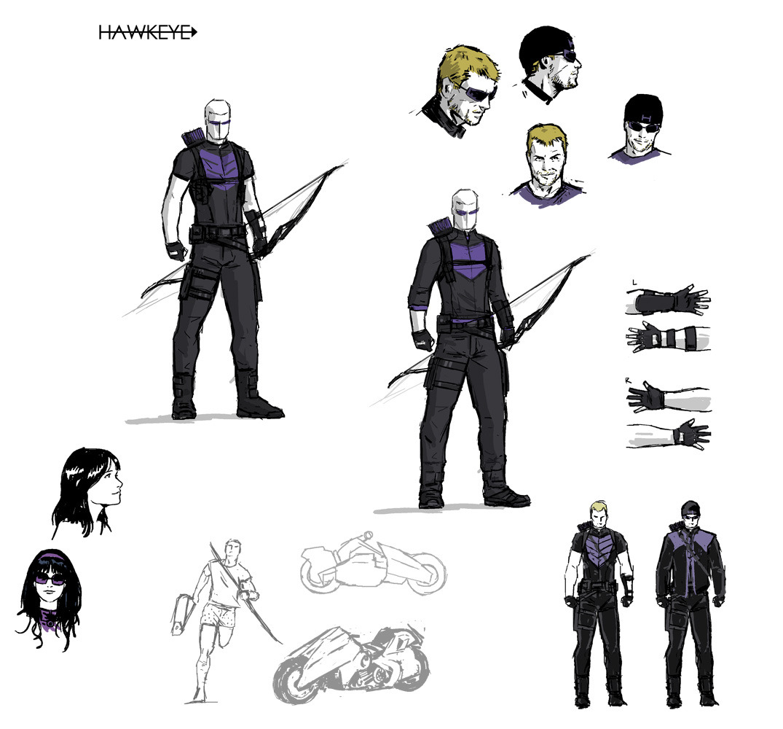 Concept Art For Hawkeye By David Aja Via Stephen