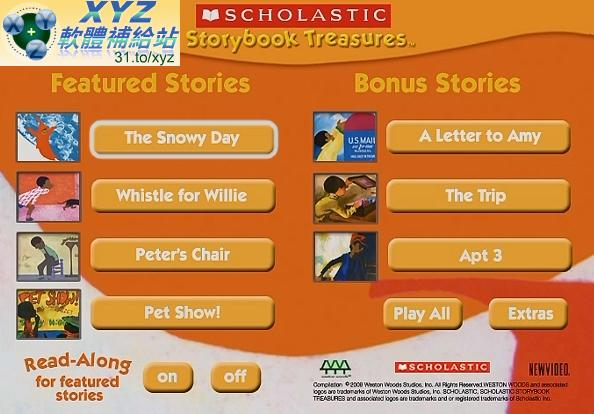 美國Scholastic 學樂50個 兒童故事 英語發音 英文語言字幕版(幼兒教學)(適用任何家用DVD播放機超清晰畫面超長超 ...