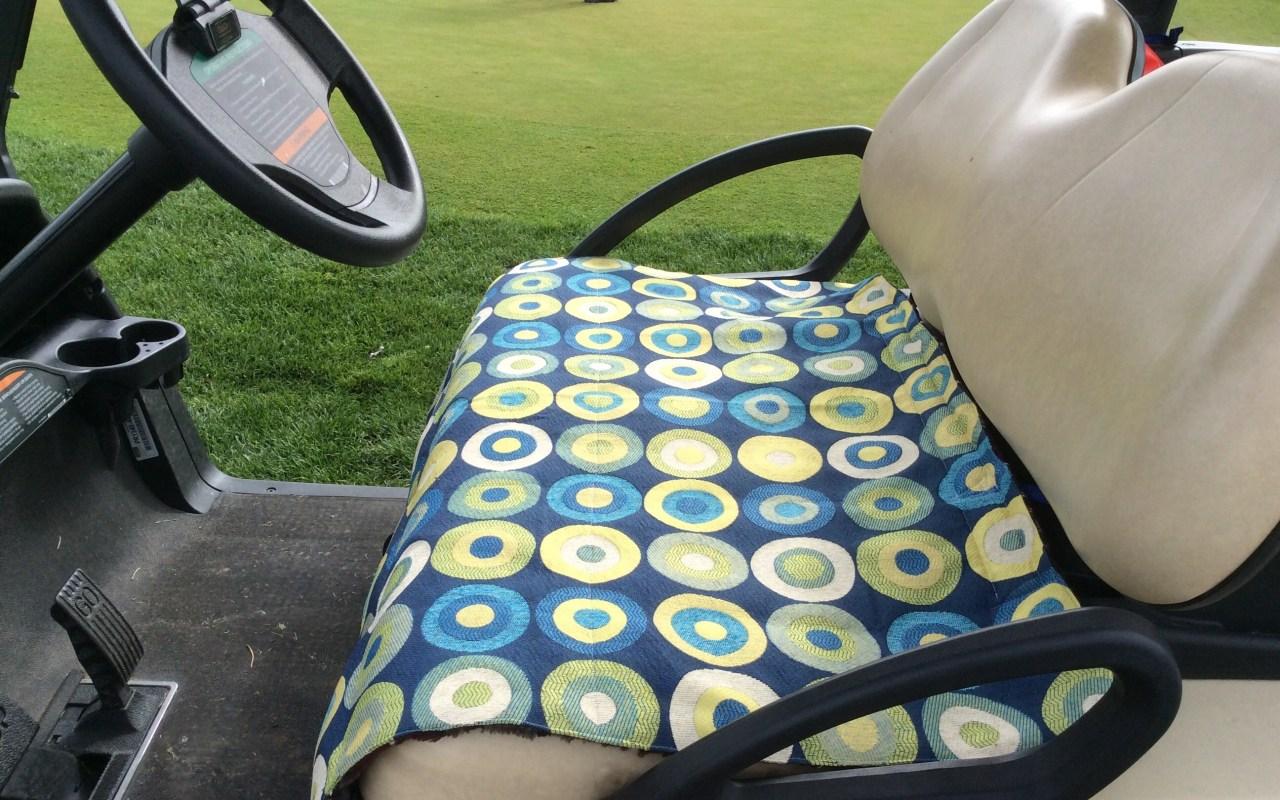 Make your own golf car seat cover golf car seat cover custom made jeuxipadfo Choice Image