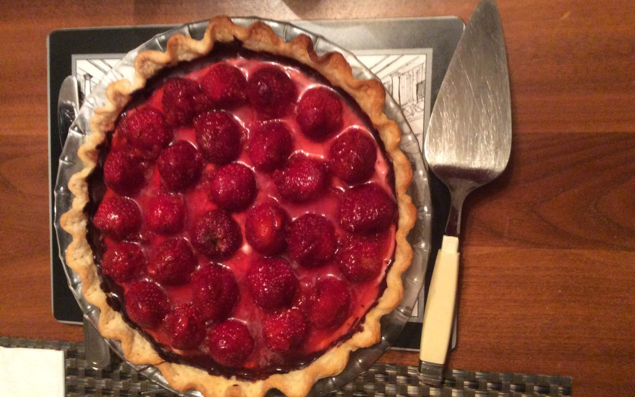 Yum! Strawberry Pie!
