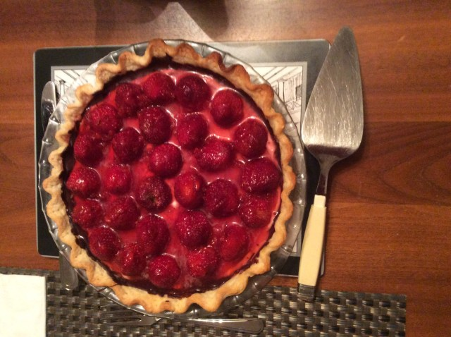 Yum! Strawberry Pie!