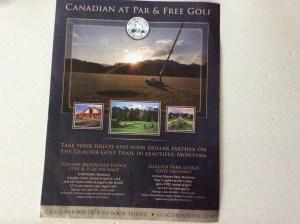 Brochure for Whitefish, Montana