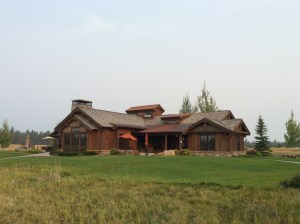 The clubhouse at The Wilderness Club.