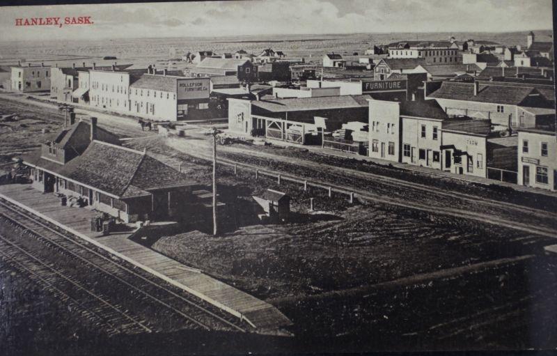 Hanley, Saskatchewan in 1907